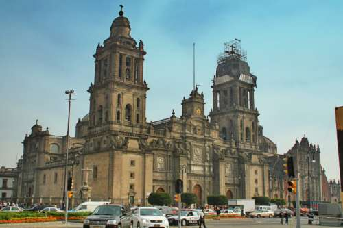 Mexico City Church