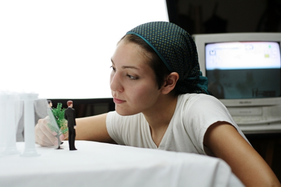 Angela Walley creates a stop-motion animation