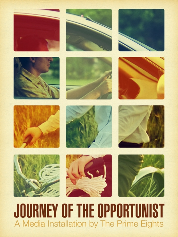 Journey of the Opportunist, StellaHaus Exhibition Poster