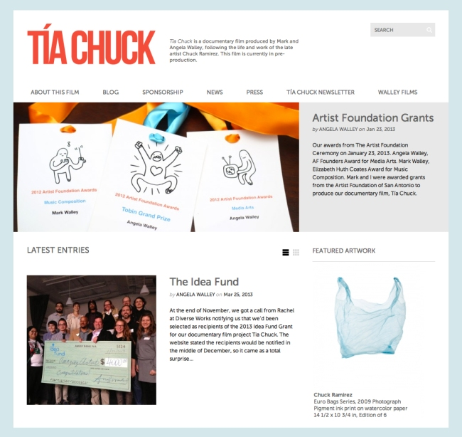 Tia Chuck Website