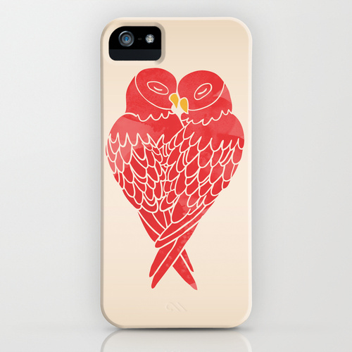 Love Birds Phone Case by Mark and Angela Walley on Society6