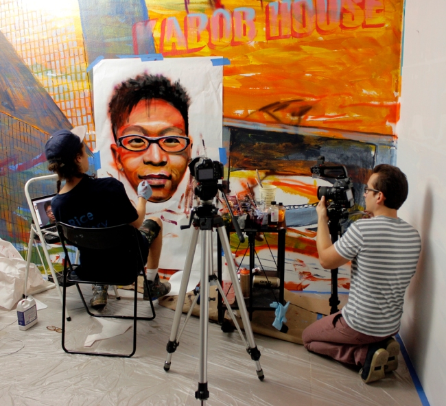 Walley Films with Gaia at Rice Gallery