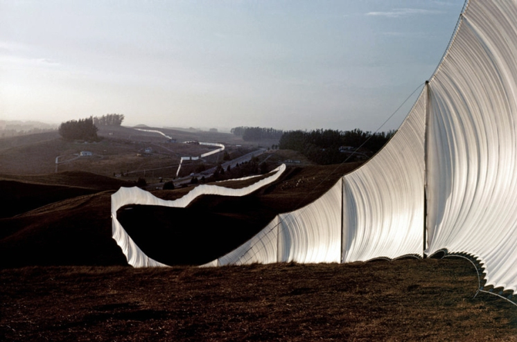 Running Fence, Christo and Jeanne-Claude