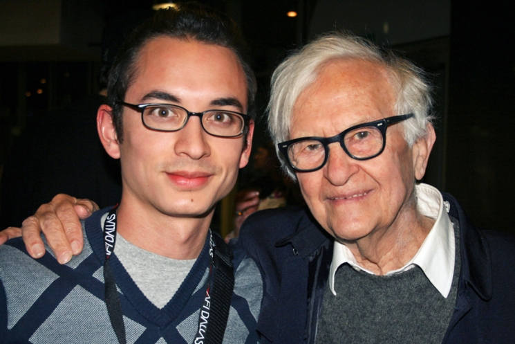 Albert Maysles and Mark Walley, 2008 #WalleyFilms