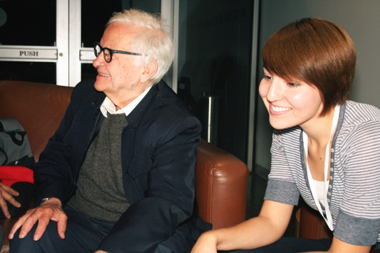 Albert Maysles and Angela Walley, 2008 #WalleyFilms