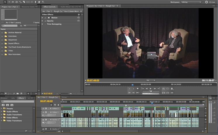 Chuck Ramirez Documentary Timeline